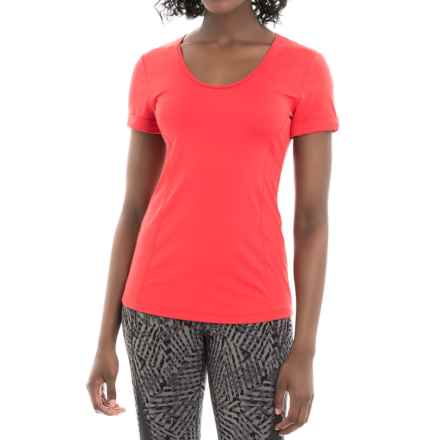 Lole Carys Shirt - Short Sleeve (For Women) in Ruby - Closeouts