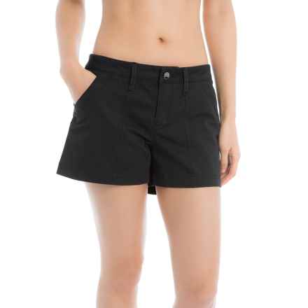 Lole Casey Shorts - Mid Rise (For Women) in Black - Closeouts