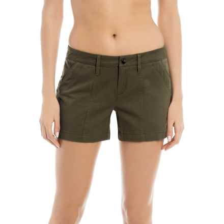 Lole Casey Shorts - Mid Rise (For Women) in Khaki - Closeouts