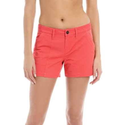 Lole Casey Shorts - Mid Rise (For Women) in Ruby - Closeouts