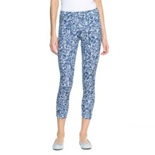 Lole Celeste Capri Leggings - UPF 50+ (For Women) in Mirtillo Blue  Flower - Closeouts