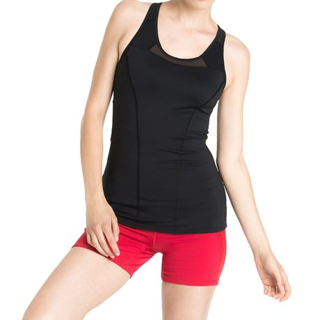 Lole Central Racerback Tank Top UPF 50+, Built In Bra, High Impact (For Women)