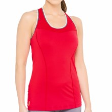 Lole Central Tank Top - UPF 50+, Built-In Bra (For Women) in Chillies - Closeouts