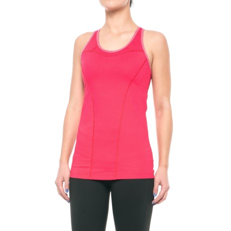 Lole Central Tank Top - UPF 50+, Built-In Bra (For Women) in Tropical Rose