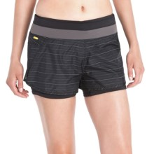 Lole Charlie 2-in-1 Shorts (For Women) in Dark Charcoal - Closeouts