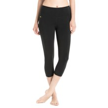 Lole Chasana Capris - Organic Cotton Blend (For Women) in Black - Closeouts