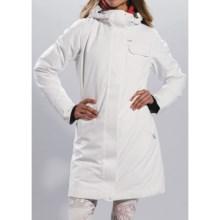 Lole Clowdy Jacket - Waterproof, Insulated (For Women) in White - Closeouts