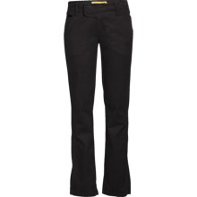 Lole Clyde Pants - Stretch Mini Cord, UPF 50+ (For Women) in Black - Closeouts