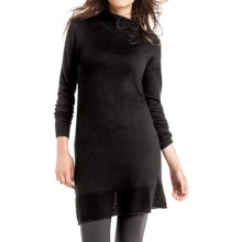 Lole Colombe Sweater Dress - Long Sleeve (For Women) in Black - Closeouts