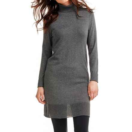 Lole Colombe Sweater Dress - Long Sleeve (For Women) in Menhir Heather - Closeouts