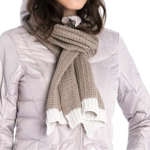 Lole Cotton Knitwear Scarf (For Women) in Cinder - Closeouts