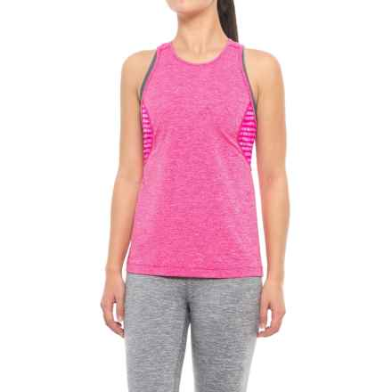 Lole Daphne Tank Top - UPF 35+, Racerback (For Women) in Pink Glow Heather - Closeouts