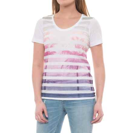 Lole Dawn Shirt - Short Sleeve (For Women) in White - Closeouts