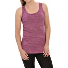 Lole Debbie Tank Top - Built-In Sports Bra (For Women) in Wild Aster Heather - Closeouts