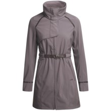 Lole Elegant Belted Jacket - Soft Shell (For Women) in Clay - Closeouts