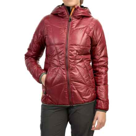 Lole Elena Downglow Jacket - 500 Fill Power (For Women) in Cabernet - Closeouts
