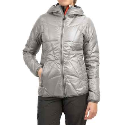 Lole Elena Downglow Jacket - 500 Fill Power (For Women) in Warm Grey - Closeouts