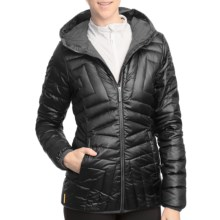 Lole Elena Quilted Down Jacket (For Women) in Black - Closeouts