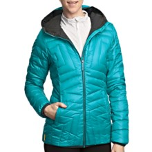 Lole Elena Quilted Down Jacket (For Women) in Enamel - Closeouts