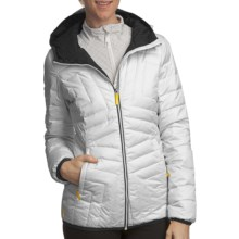 Lole Elena Quilted Down Jacket (For Women) in White - Closeouts