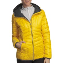Lole Elena Quilted Down Jacket (For Women) in Yellow - Closeouts