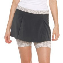 Lole Elodie Skorts - UPF 50, Recycled Polyester (For Women) in Black - Closeouts