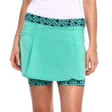 Lole Elodie Skorts - UPF 50, Recycled Polyester (For Women) in Turquoise - Closeouts