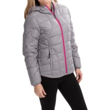 Lole Emeline Down Jacket (For Women) in Silver Heather - Closeouts