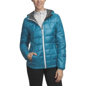 Lole Emily Downglow Hooded Jacket - 600 Fill Power (For Women) in Lagoon