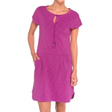 Lole Energic Dress - UPF 50+, Short Sleeve (For Women) in Passiflora Mix - Closeouts