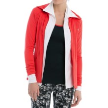 Lole Essential Cardigan Jacket (For Women) in Bittersweet - Closeouts