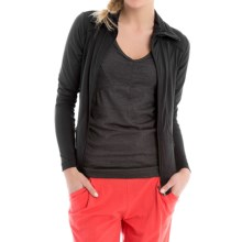 Lole Essential Cardigan Jacket (For Women) in Black - Closeouts