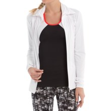 Lole Essential Cardigan Jacket (For Women) in White - Closeouts