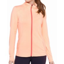 Lole Essential Cardigan Sweater - UPF 50+ (For Women) in Cantaloupe - Closeouts