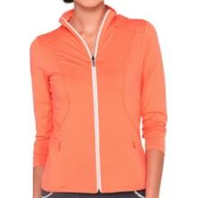 Lole Essential Cardigan Sweater - UPF 50+ (For Women) in Mandarino - Closeouts