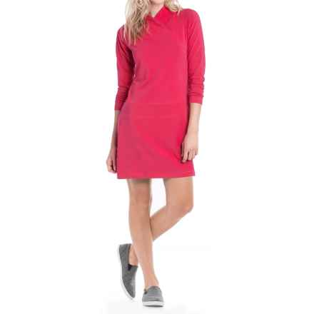 Lole Evolt Dress - Long Sleeve (For Women) in Cherry - Closeouts