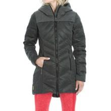 Lole Faith Down Jacket - Waterproof, 500 Fill Power (For Women) in Black Heather - Closeouts