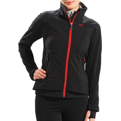 Lole Fastness 2 Jacket - Waterproof, Soft Shell (For Women) in Black