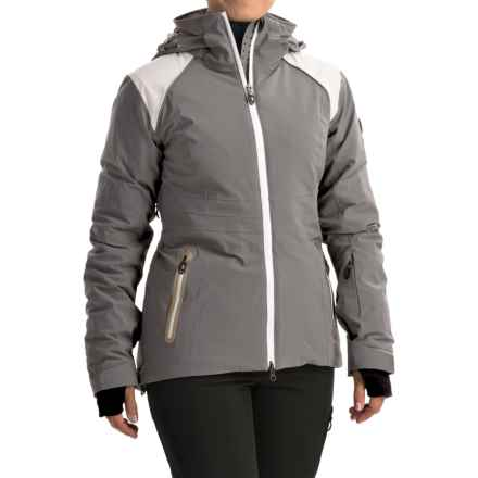 Lole Fedora Ski Jacket - Waterproof, Insulated (For Women) in Carbon - Closeouts