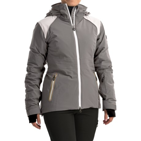 Lole Fedora Ski Jacket - Waterproof, Insulated (For Women) in Carbon