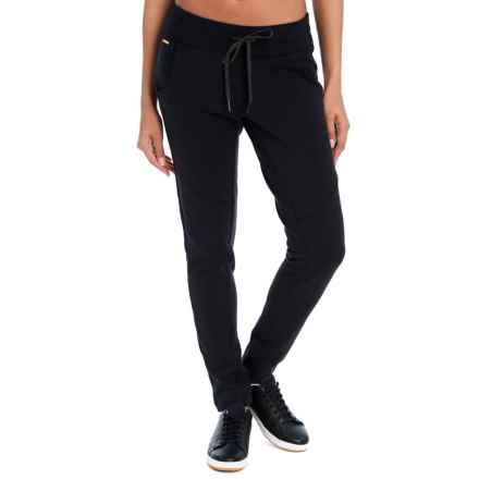 Lole Felicia Essential Cozy Fleece Joggers (For Women) in Black - Closeouts