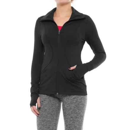 Lole Full-Zip Running Jacket (For Women) in Black - Closeouts