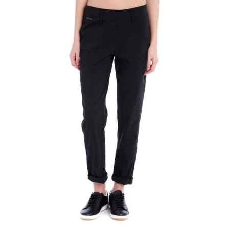 Lole Gateway Herringbone Pants (For Women) in Black - Closeouts