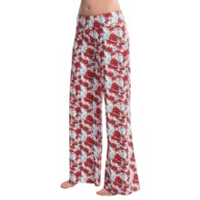 Lole Gia Palazzo Pants (For Women) in White Blomst - Closeouts