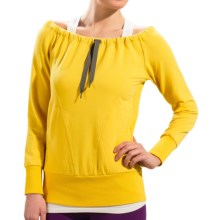Lole Gina Shirt - UPF 50+, Eco Tech Fleece, Long Sleeve (For Women) in Yellow - Closeouts