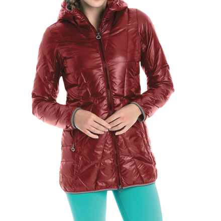 Lole Gisele Down Jacket - 500 Fill Power (For Women) in Cabernet - Closeouts