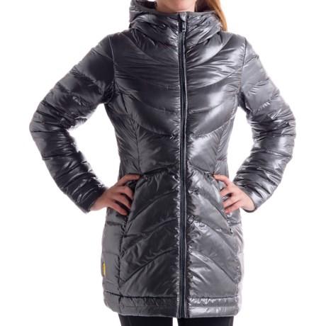 Lole Gisele Down Jacket - 500 Fill Power (For Women) in Dark Charcoal