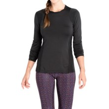 Lole Glory Shirt - Long Sleeve (For Women) in Black - Closeouts