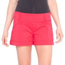 Lole Harbour 2 Shorts - Mid Rise, UPF 50+ (For Women) in Campari - Closeouts