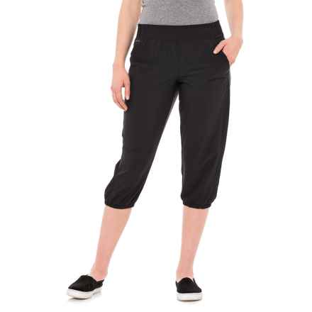 Lole Hattie Capris - UPF 50+ (For Women) in Black - Closeouts